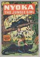 Nyoka the Jungle Girl #12 October 1947 VG-