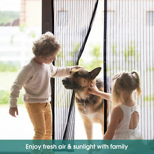 Anti Mosquito Insect Fly Bug Curtain Magnetic Mesh Net Auto Closing Door Screen