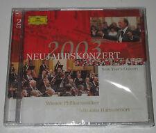 2 CD/SEALED NEU NEW/NEUJAHRSKONZERT 2003/HARNONCOURT/WIENER PHIL./DG 474250-2