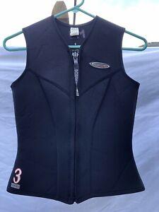 Henderson 3mm Neoprene Vest Womens Size 6 N130WF Scuba Snorkel *Package Discount