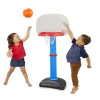 Little Tikes TotSports Easy Score Basketball Set, Toddler Adjustable Hoop Blue