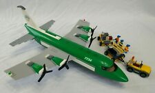 Lego 7734 City Cargo Plane - Model is 100% Complete w/Minifis (1 manual/no box)