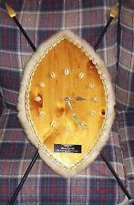 WARRIOR SHIELD CLOCK AWARD Isaac Hayes Estate Personal item RARE