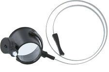 "Gift Idea 6X Illuminated Hands Free LED Eye Loupe Magnifier 1.25"" Lens MI1216HB"