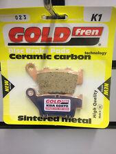 Ktm Sx 125 Sx125 1996-2003 Gold Fren Trasero Pastillas De Freno
