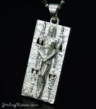 Shroud Of Turin Jesus Pendant Sterling Silver Jewelry Small version
