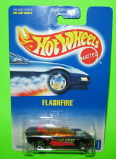 Hot Wheels Flashfire Collector #140 Mint on 1991 Card ho5 Hole Dot 3156 Malaysia