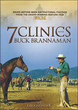 7 Clinics with Buck Brannaman: Discs 1-2 Groundwork DVD NEW