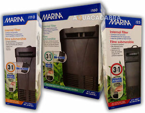MARINA i25 i110 i160 INTERNAL POWER FILTER AQUARIUM FISH TANK CARTRIDGE