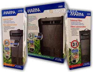 MARINA i25 i110 i160 INTERNAL POWER FILTER AQUARIUM FISH TANK CARTRIDGE