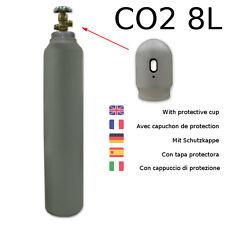 Gasflasche 8 Liter CO2 Schutzgas Schweißgas MIG MAG fabrikneu PEMAT