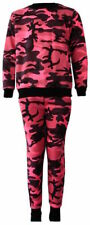 Vêtements rose à manches longues en polyester pour fille de 4 à 5 ans