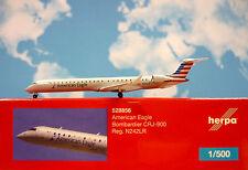 Herpa Wings 1:500 Bombardier CRJ-900 American Eagle N242LR  528856