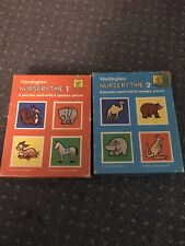 Vintage Waddingtons House of Games Children's Nursery Time 1 & 2 Jigsaw Puzzles