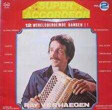 RAY VERHAEGEN - SUPER ACCORDEON - 12 WERELDBEROEMDE DANSEN - VOL.2 - LP