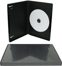 1 x Single Standard Black DVD Case 14mm Spine New Empty Regular Cover