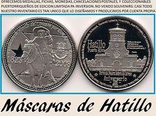 185 Años HATILLO del CORAZON Máscaras Puerto Rico 1/200 Edicion Limitada w  COA