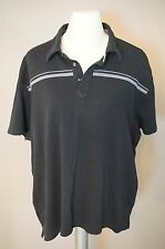 A(x)IST Polo Shirt in BLACK | men's sz XXL | euc