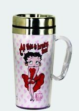 BETTY BOOP TRAVEL MUG  DOUBLE INSULATED COOL BREEZE DESIGN