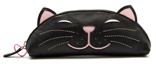 Rosie Black Cat Glasses Case Soft MALA Leather Spectacle Reading Sunglasses Gift