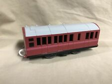 Thomas Engine TOMY Trackmaster Pink Passenger Car Works with Motorized Trains