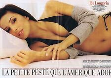 Coupure de presse Clipping 2005 Eva Longoria (4 pages)