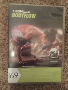 Les Mills BODYFLOW 69 DVD, CD, Notes body flow balance bodybalance