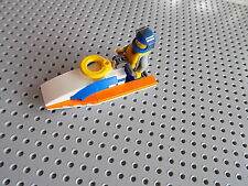Lego Jet Ski Air Boat with minifig and instructions combine shipping 2 save