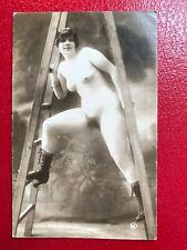 Stampa PR Reprint - Vintage Nude Erotic Postcard - r282