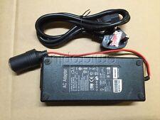 10A Cigarette Lighter Socket 240V Mains Plug to 12V DC Car Charger Power Adapter