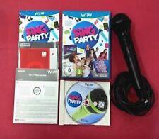 Sing Party + Micrófono - NINTENDO WiiU - USADO - MUY BUEN ESTADO