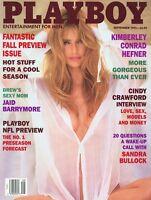 PLAYBOY SEPTEMBER 1995 Donna D'Errico KimberlyConrad JaidBarrymore SandraBullock