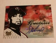 Francisco Liriano Auto Rookie 2006 Clear Path to Greatness Blue Jays