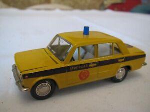 Novoexport  Lada 2101 Militär Polizei  1/43  Made in CCCP