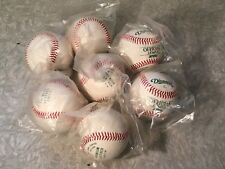 Lot Of 7 New Diamond D1 NFHS High School Collage Leather Baseballs 5 oz 9""