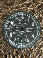 Chronograph XXL DAY/DATE Zifferblatt für ETA Valjoux 7750 - Neu
