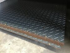 BOX CAR BIKE TRAILER FLOORING 1500x1200x2.1MM CHEQUER PLATE FULL SHEET CHEAP