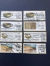 Ireland. Post And Go. 8 Stamps With BOXED IN Values. Different  Values.