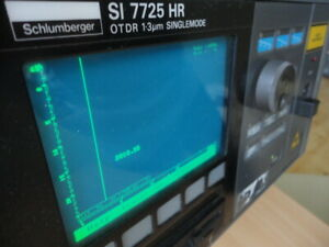 Schlumberger SI 7725 HR Optical Reflectometer OTDR