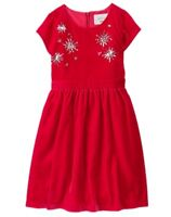 NWT Gymboree Fun and Fancy Red Dress Christmas Girls 4,5,6,7,8,10,12,14