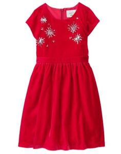 NWT Gymboree Fun and Fancy Red Dress Christmas Girls 4,5,6,7,8,12