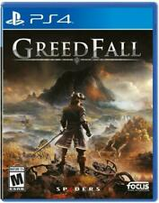 Greed Fall (Sony PlayStation 4) PS4 new sealed video game Greedfall