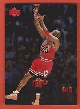 1998 Upper Deck MJx Timeline Michael Jordan Bulls #126 Foil (KCR)