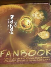 12/06/2004 Euro 2004: Official Tournament Programme. This item has been inspecte