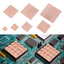 2pcs Pure Copper Heat Sink Adhesive Back Heatsink Cooling for VGA DDR IC Chipset