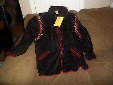 bob mackie beautiful design  size 2x shirt NWT sweat jacket