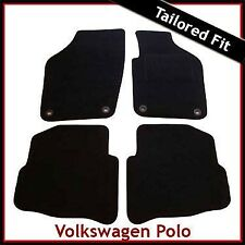 Volkswagen VW Polo Tailored Fitted Carpet Car Mat Oval Locators (2002 - 2006)