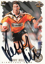 2000 NRL ALL STAR SIGNATURE CARD - SCR9 & SC9 TERRY HILL WESTS TIGERS #339