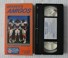 Denver Broncos Denver's Amigos Mark Jackon Vance Johnson Ricky Nattiel VHS