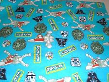 """Camelot Fabrics Angry Birds Fabric Star Wars Fabric FLANNEL 3 yards x 44"""" wide"""
